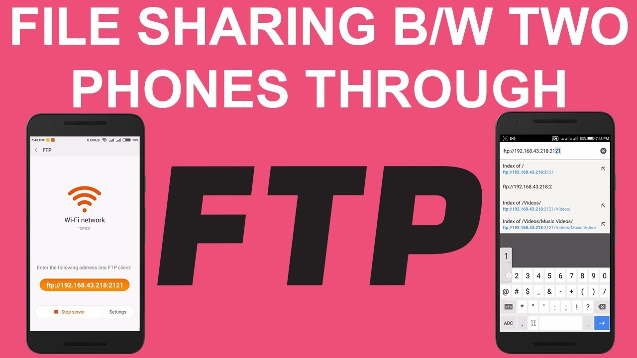 How to Share Files Between Two Android Phones Using FTP   Android Member