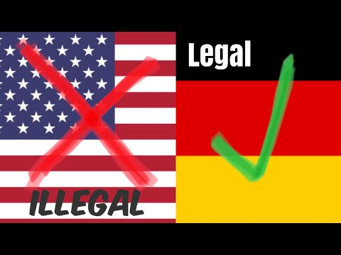 Illegal in USA but legal in Germany