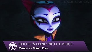 Ratchet & Clank: Into the Nexus - Walkthrough - Mission 2 - Meero Ruins