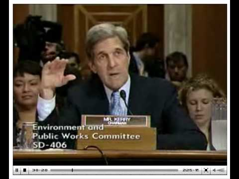 Senator Kerry 30 Minute Fillibuster