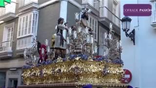 Jesús Atado a la Columna por Ancha/San José y Pl. de Mina (Semana Santa de Cádiz 2019)