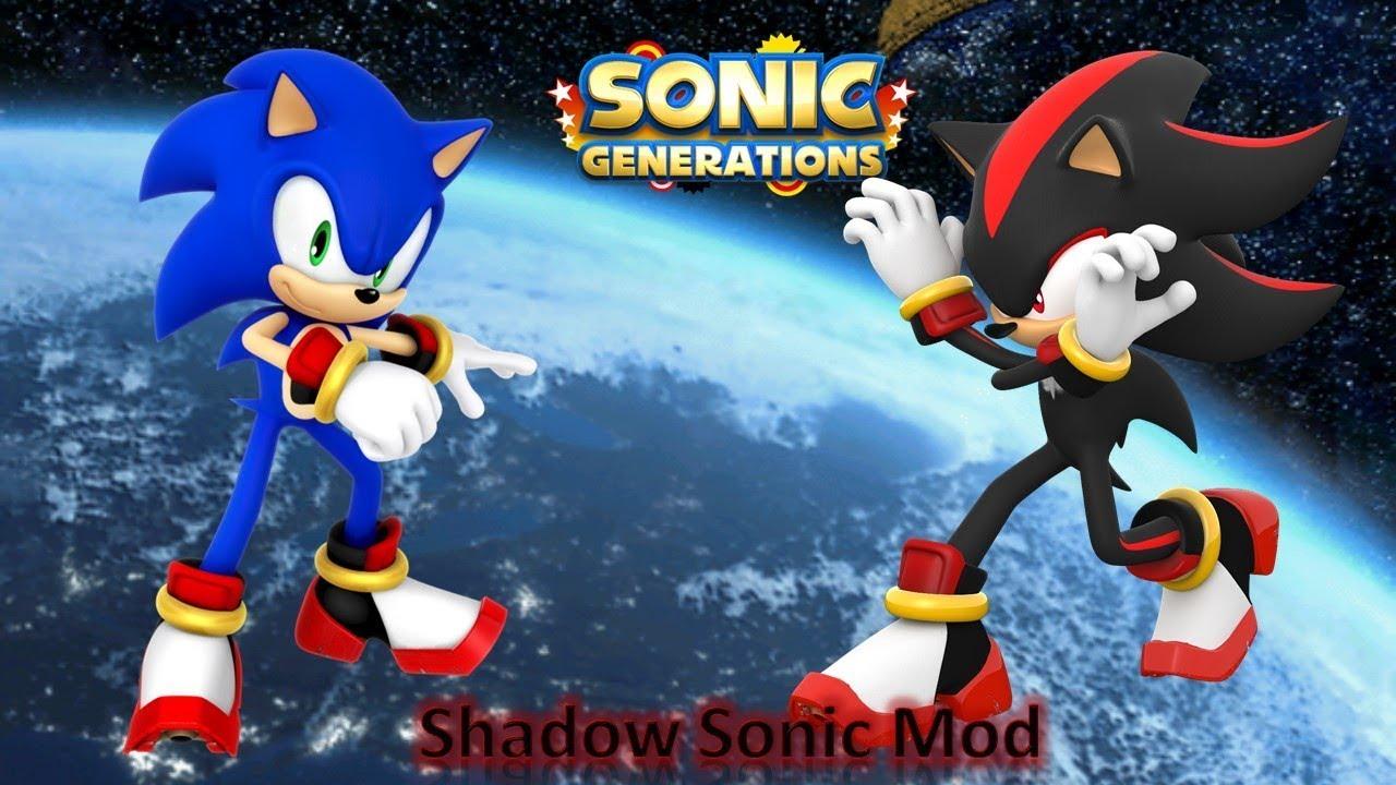 Sonic Generations Mod Part 152_ Shadow Sonic Mod