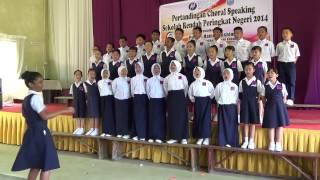 Team No 6 choral speaking 2nd Place St Monica Sandakan 2014