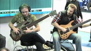 Steve Bailey, Hadrien Feraud and David Haynes - PreSonus - NAMM 2012
