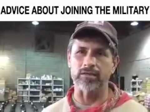 Advice about joining the military