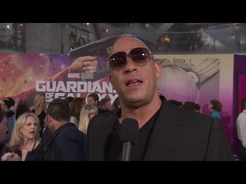 "Guardians of the Galaxy Vol. 2: Vin Diesel ""Baby Groot"" Red Carpet Movie Premiere Interview"