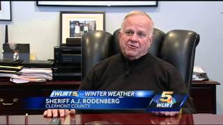Clermont Co. sheriff declared Level 1 snow emergency Monday