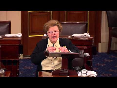Mikulski Speaks on Senate Floor to Honor Retiring Colleagues Kay Bailey Hutchison and Olympia Snowe