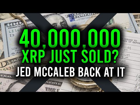 40M XRP SOLD AGAIN, WHAT DOES THIS MEAN? ECB SAYS THEY WILL NEVER HOLD CRYPTO & ELON PUMPING BTC!