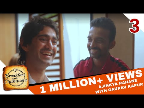 Yeh Thoda Tricky Hai | Breakfast with Champions ft. Gaurav Kapur & Ajinkya Rahane