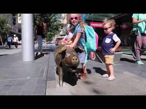A DAY IN THE CITY (ADELAIDE CBD)