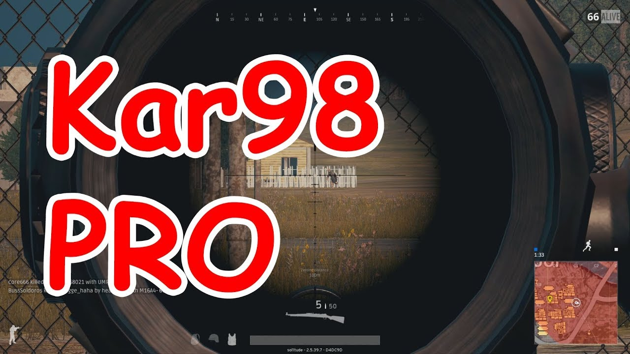 Download PUBG: How to improve Kar98 shooting skills (8X Scope)