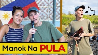 Foreigners sing MANOK NA PULA (Cover Song & Music Video) PARODY