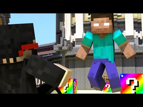 NUKING HEROBRINE (Minecraft Animation)