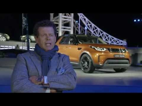 New Land Rover Discovery World Premiere - Gerry McGovern, Chief Design Officer | AutoMotoTV