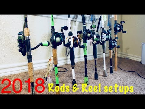 2018 Kayak Rod & Reel Setups