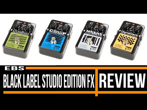 EBS Black Label Studio Edition Bass Effect Pedal | Review