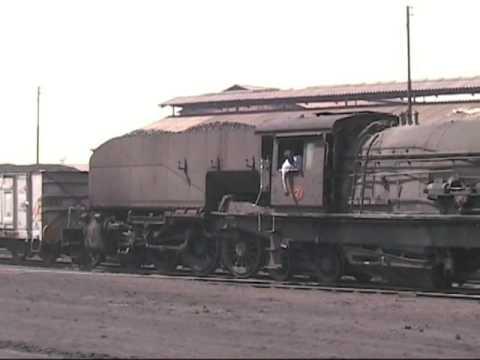 Zimbabwe - Garratts on coal trains, Hwange 2005