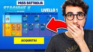 "REACTION TO THE NEW PASS BATTLE OF FORTNITE!! ""SEASON 10"""