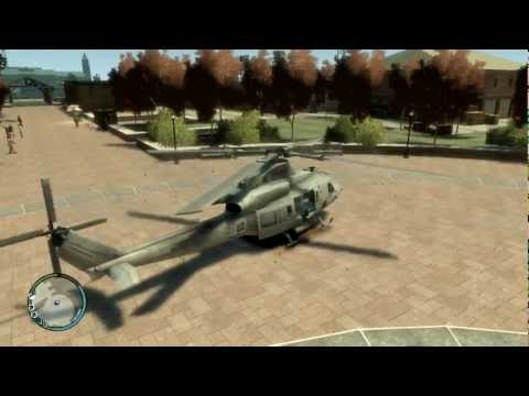 GTA IV - Bell UH-1Y Venom Helicopter