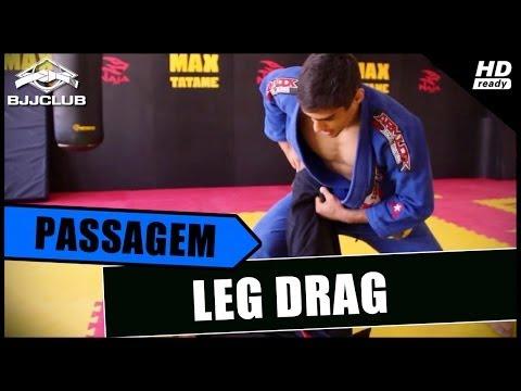 Jiu-Jitsu - Leg Drag - Felipe Cesar - BJJCLUB