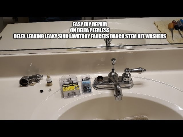 faucet repair on delta peerless