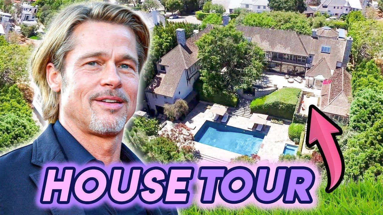 Brad Pitt House Tour 2020 His Multi Million Dollar Los Feliz Compound Youtube