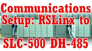 A-B SLC-500 DH-485-Kommunikation-Installation & Download