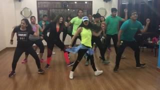 THE HUMMA SONG | OK JAANU |ZUMBA FITNESS |DANCE FITNESS CHOREOGRAPHY