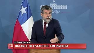 Subsecretario Ubilla confirma tres fallecidos en las últimas 24 horas
