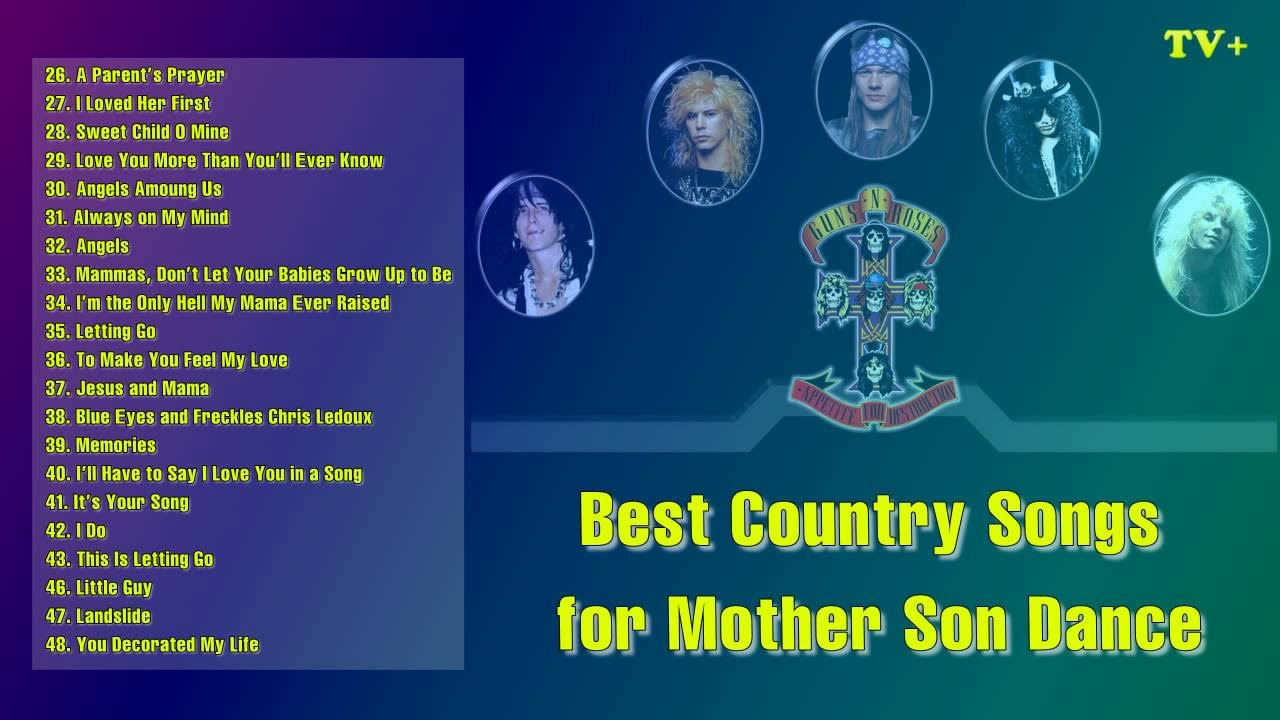 The Best Country Songs For Mother Son Dance Vol 02 Youtube