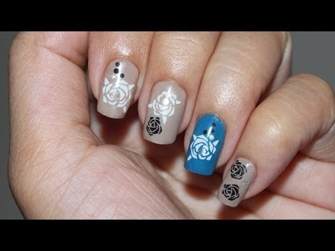 How To Use Gel Nail Art Sticker