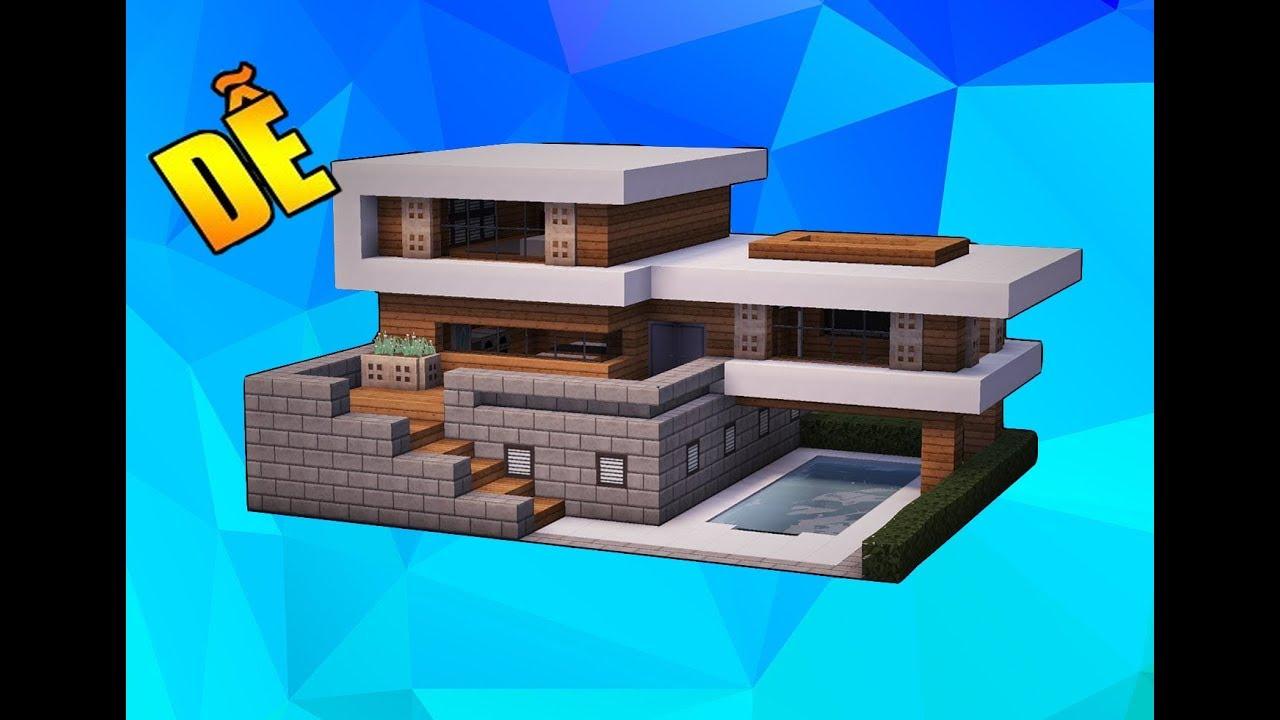 Hướng Dẫn Xây Nhà Hiện Đại Trong Minecraft- Zener (#3)