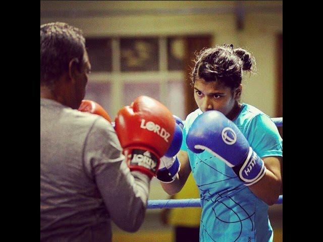 Rising Stars: Nikhat Zareen boxing