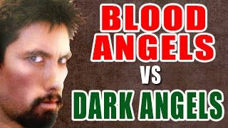 Blood Angels vs Dark Angels Warhammer 40k Battle Report - Banter Batrep 54