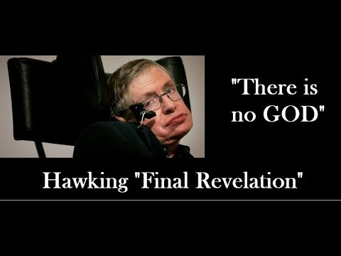 Stephen Hawking's 'Final Revelation' before death,