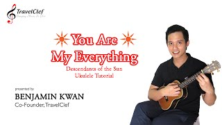 """How to Play """"You Are My Everything"""" by Gummy on the Ukulele"""