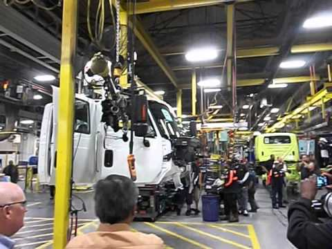 Last Day Navistar Garland Assembly Plant 3/29/2013