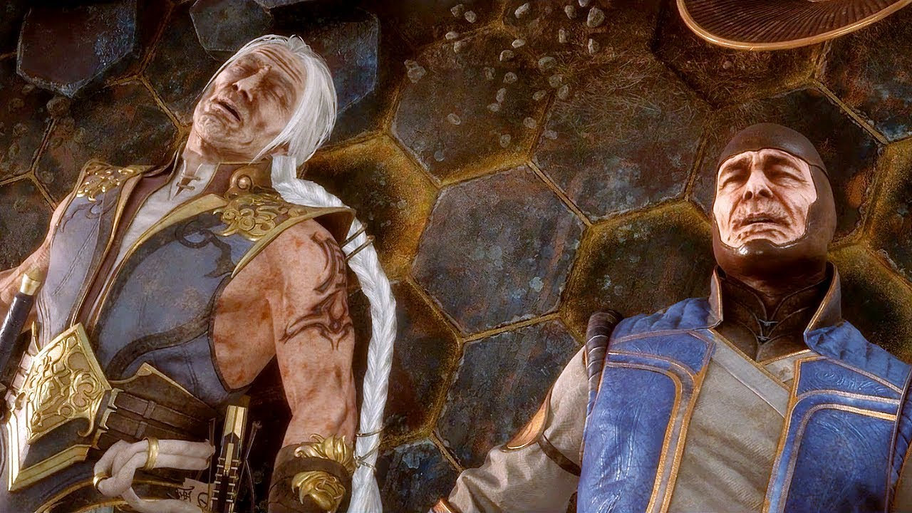 MORTAL KOMBAT 11 AFTERMATH Shang Tsung Kills Raiden & Fujin Scene MK11