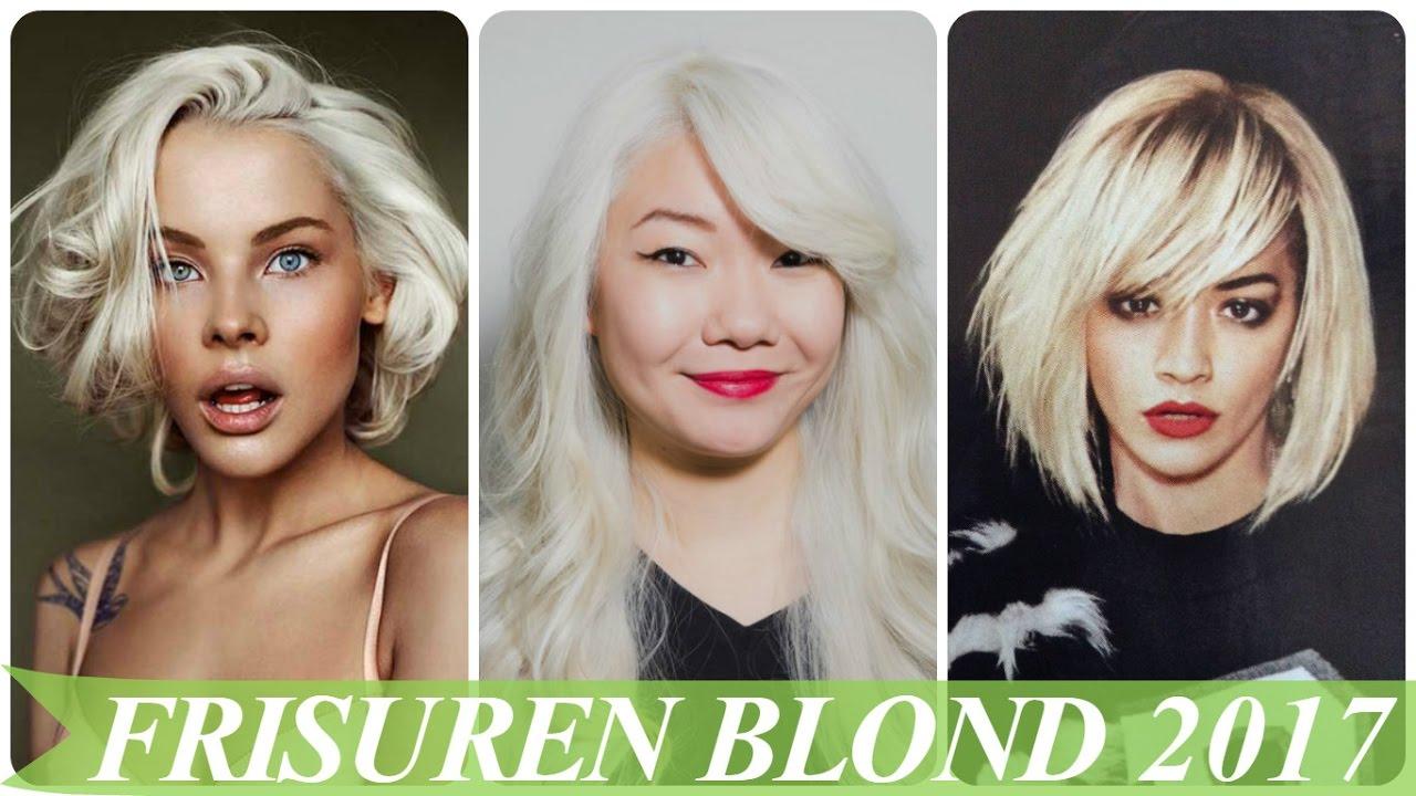 Frisuren Blond 2017 YouTube