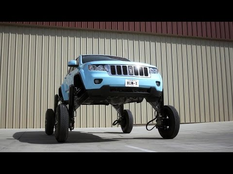 Hum Rider   This elevating car can drive over traffic