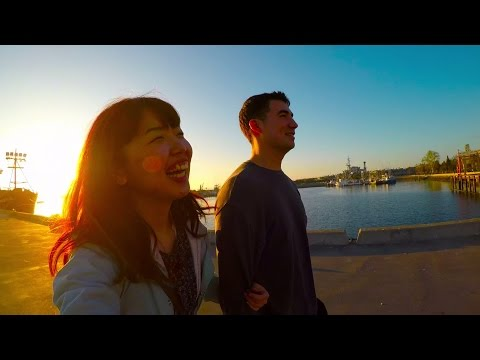 Seaport Village in SAN DIEGO 〔My travel videos in the US 2017〕