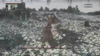 Bloodborne (98) The Great Tree: First Attempt at First Hunter