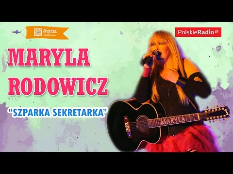Maryla Rodowicz: Szparka Sekretarka LIVE (Jedynka)