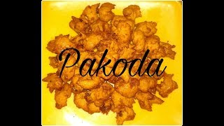 Pakoda || Punjabi Style Pakoda || Evening Snacks Recipe || Quick And Simple Recipe