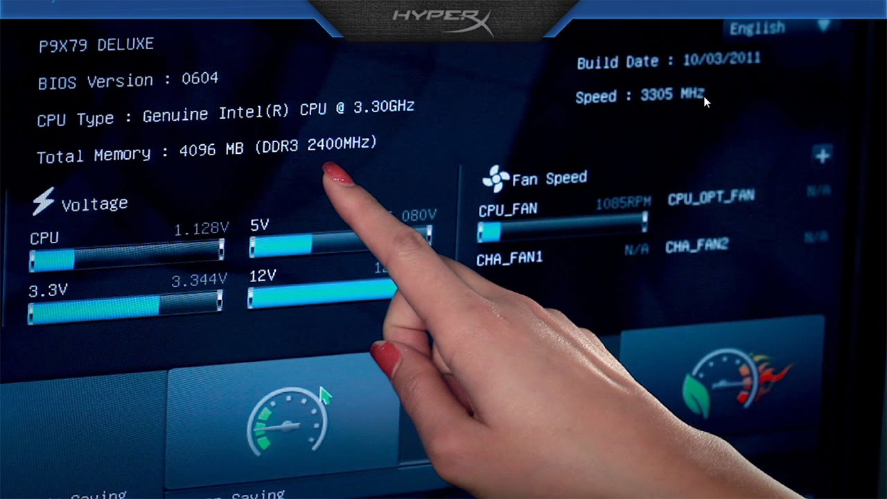 HyperX PnP and XMP Overclocking