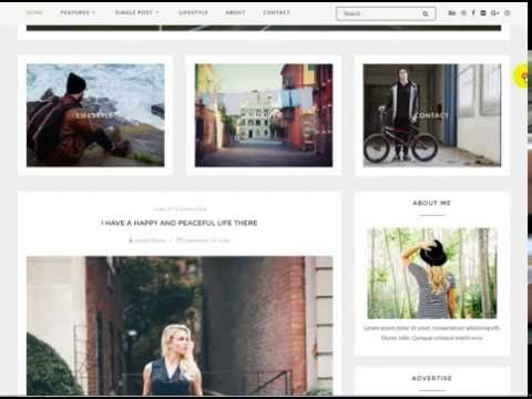 Download Free Creek  Exquisite WordPress Blog WP Theme With Project Files