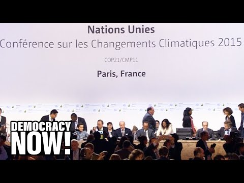 Bill McKibben on U.S. Withdrawal from Paris Accord, California Fires, Climate Refugees & More