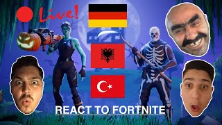 Fortnite live German new shop new skins soon also something to win !