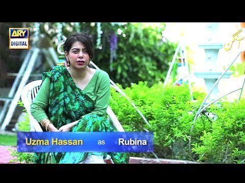 "Uzma Hassan talks about her character in Drama serial ""Aangan."""